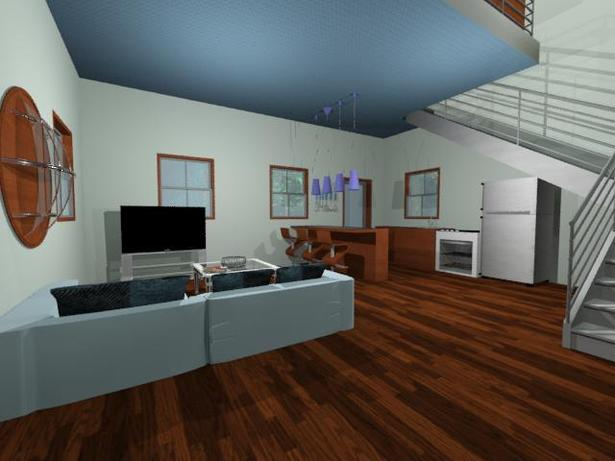Interior House of Current Project - 3DS Max (to be animated)