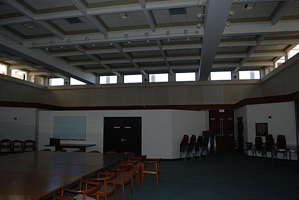 4th floor atrium meeting room before renovation