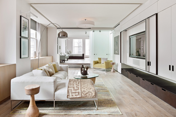 Midtown Minimal Media Room. Photo: Evan Joseph