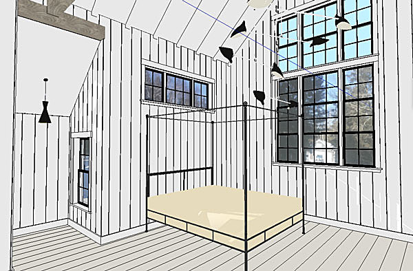 Master Bedroom (SketchUp)