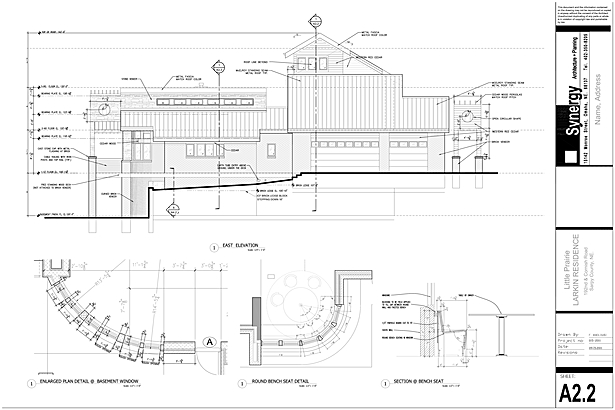 Elevation - Synergy Architect + Planning