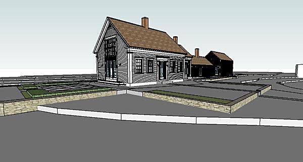 Exterior corner (SketchUp)