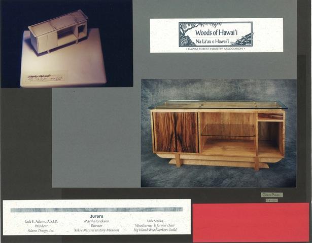 Hui Cabinet & model