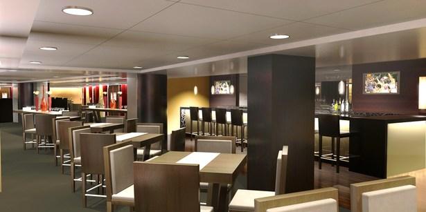 Club Bar & Dining Area