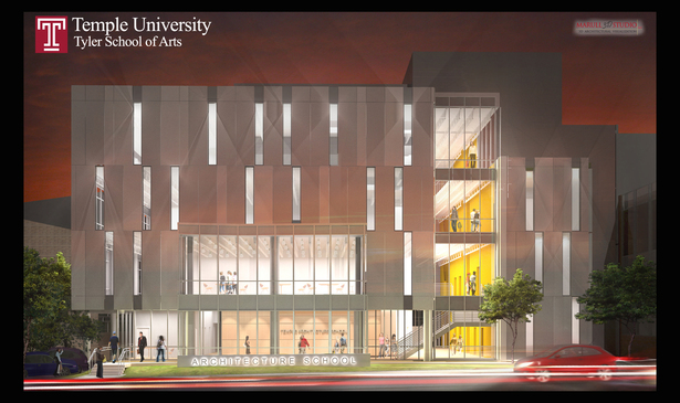 Temple University, Tyler Architecture Building-Designed by H2L2 Architects/Planners LLC