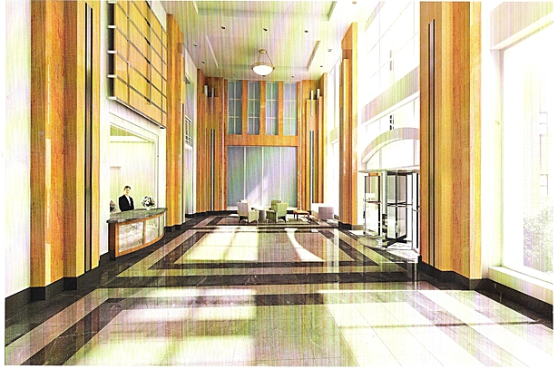 ain Entrance Interior Lobby for Building B of The Beacon Luxury Residential Condominium