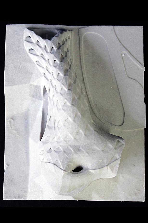 3D Print Model Ariel View