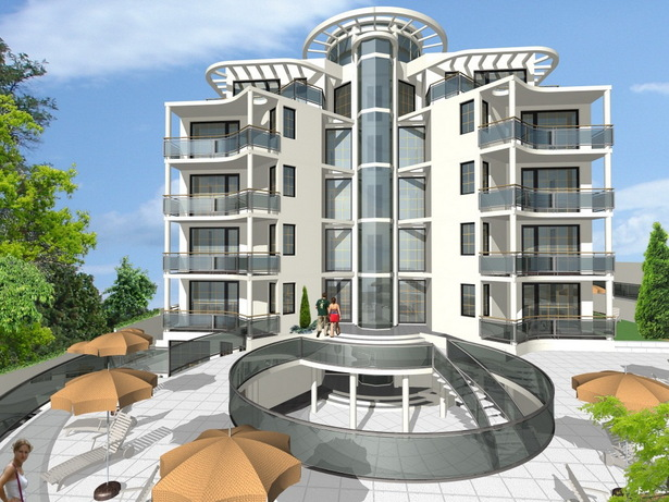 "Complex of Holiday Apartments ""BOMOND"" - visualization"