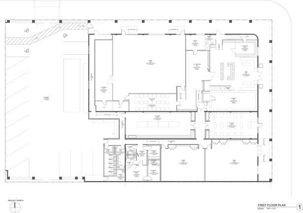 Clean First Floor Plan