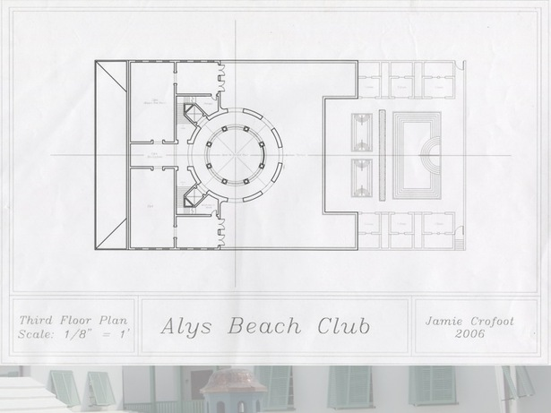 3rd Floor Plan of the Beach Club