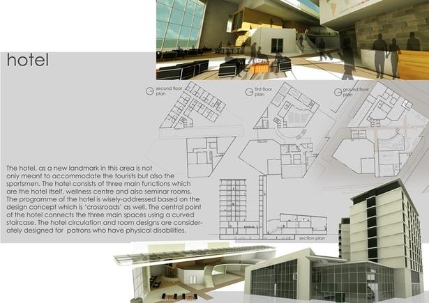 Schindler Award- Olympic Park Berlin- design deelopment