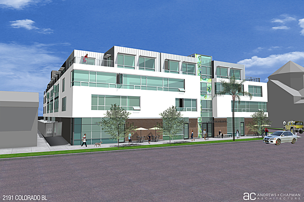 Retail/Office/residential 80 Units Pasadena