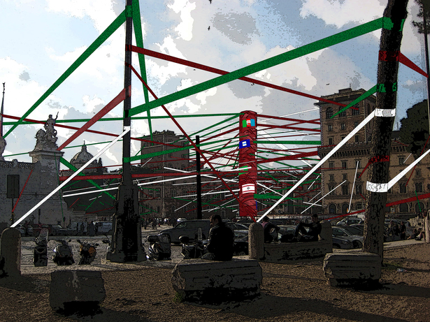 Piazza Venezia Celebration Rendering