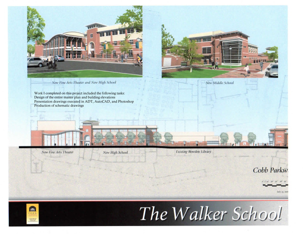 The Walker School-Elevations