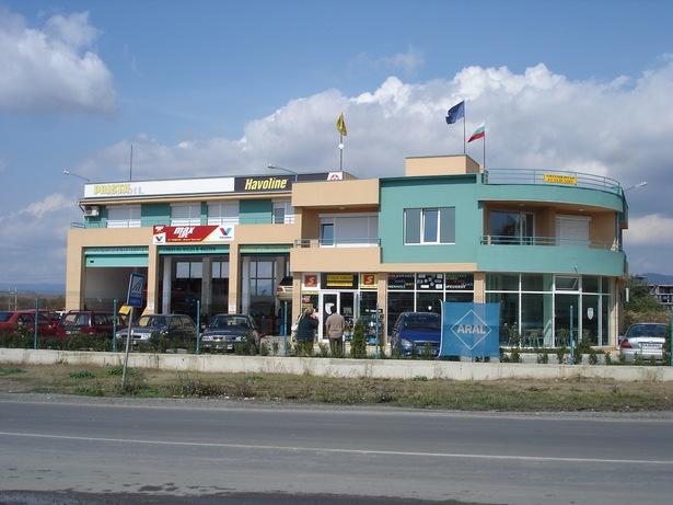 Auto service Nessebar - elevation, realization