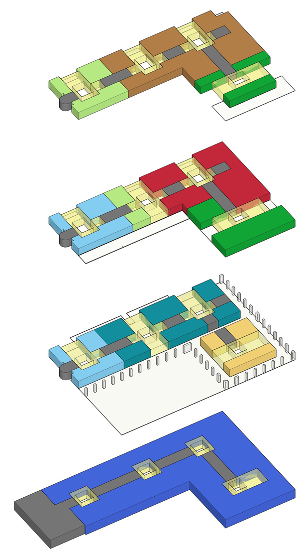 Building Organization Diagram (SketchUp)