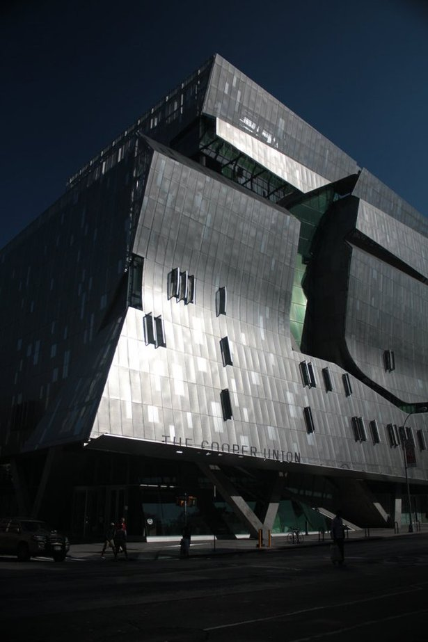 New York City, NY_Cooper Union by Morphosis