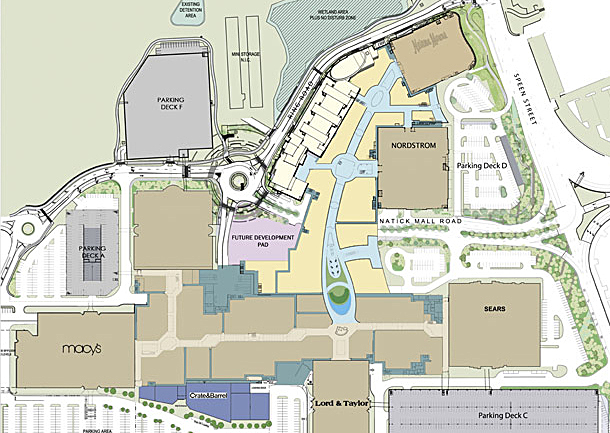 View the mall directory and map at Natick Mall to find your favorite stores. Natick Mall in Natick, MA is the ultimate destination for shopping.