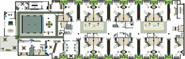 Healthcare Center Floor Plan