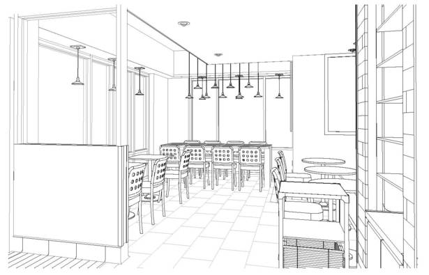 View of Cafe Seating