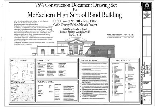 McEachern Band Building-Atlanta, GA