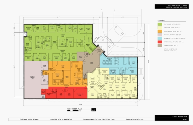 Edgewood MOB Floorplans