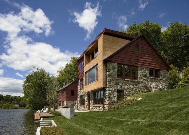 CONNECTICUT LAKE HOUSE – House & cottage
