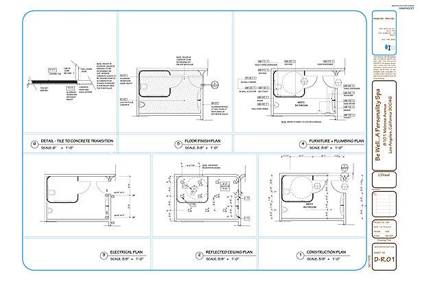 D-R.01 Men's Restroom Plans