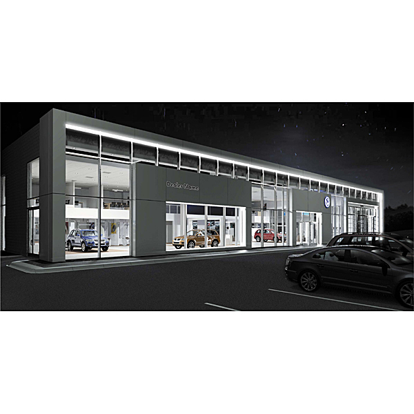 Exterior Night Rendering