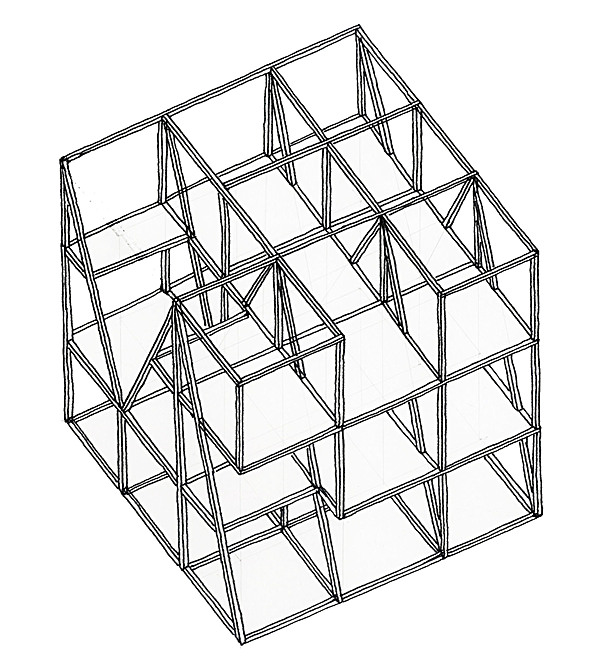 Axonometric, Structure