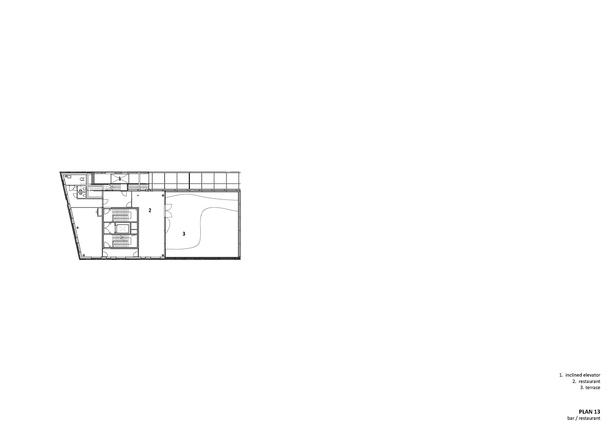 Plan 13/Bar and restaurant. Copyright © Dark Arkitekter