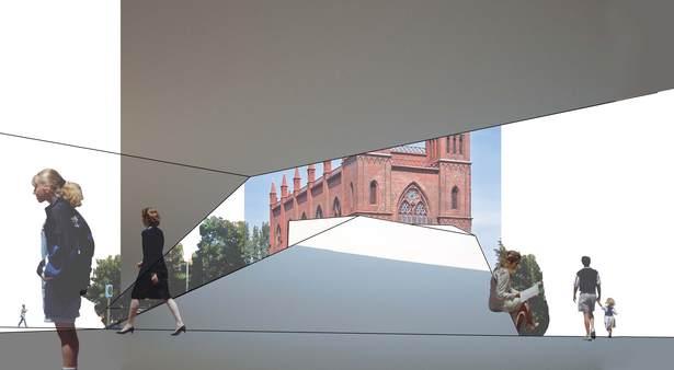 Exterior building rendering