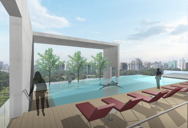 TOP FLOOR POOL DECK