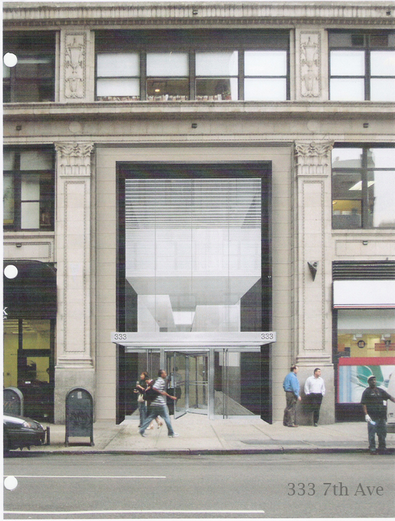 333 7th Ave., Facade Design