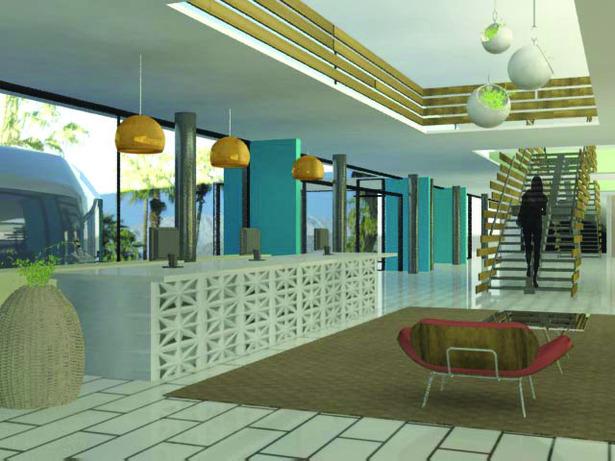 Lobby (3Dmax rendering)