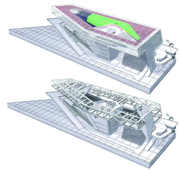 (JET+CXT+Archasia) Kaoshiung Port Services Centre BIM Model