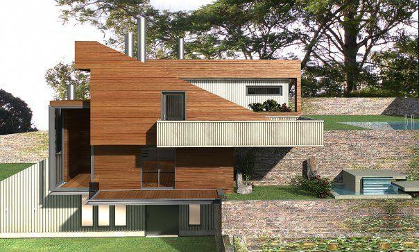 Desing & construction maison: Skiathos - Greece by http://www.facebook.com/WORKS.C.D
