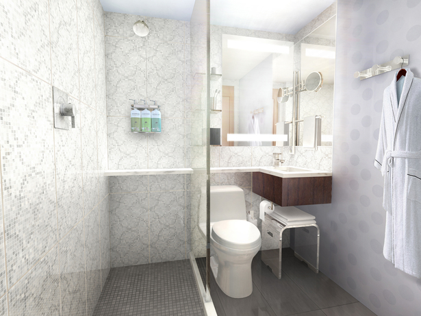 Model Bathroom Rendering