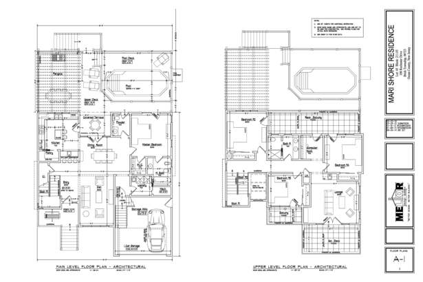 architectural floorplans