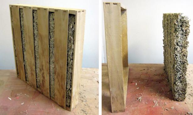hempcrete wall panel