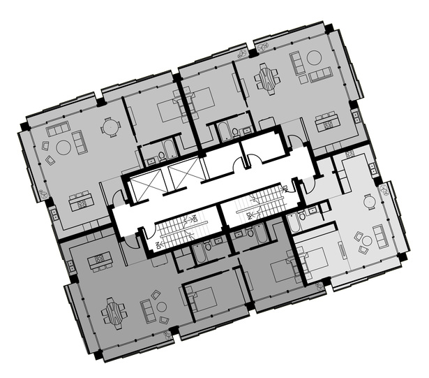typical residential floor