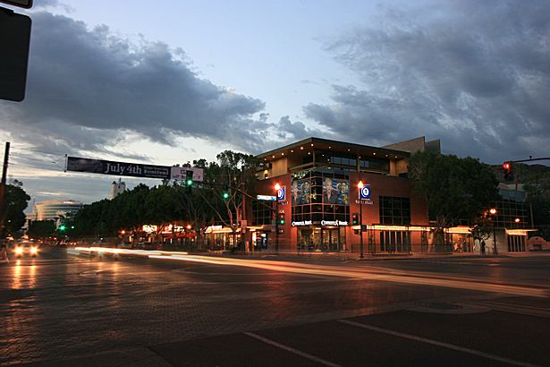the project occupies and enlivens Mill Avenue, Tempe's main street