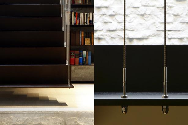 Midtown Minimal Stair Detail. Photo: T. G. Olcott
