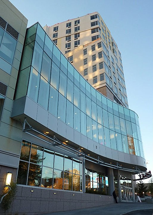 View of VS1 Curtainwall