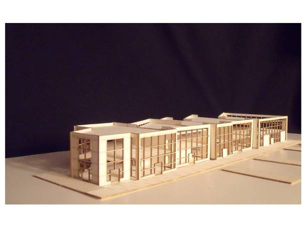 Boat House model