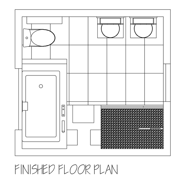 bath floor plan
