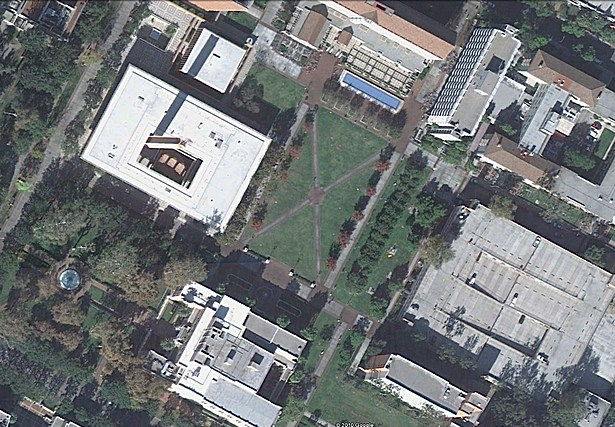 site aerial view