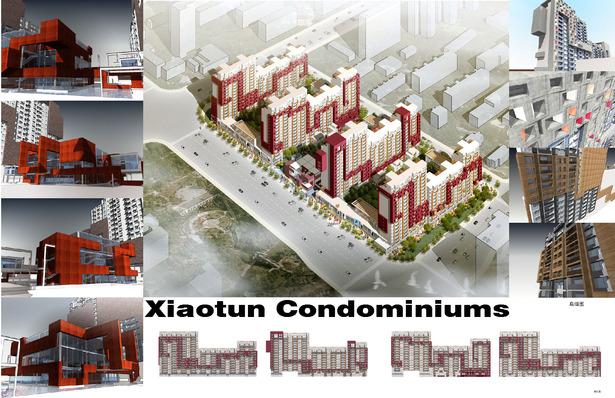 Residential development, Beijing
