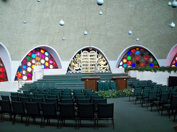 Existing Sanctuary before renovation