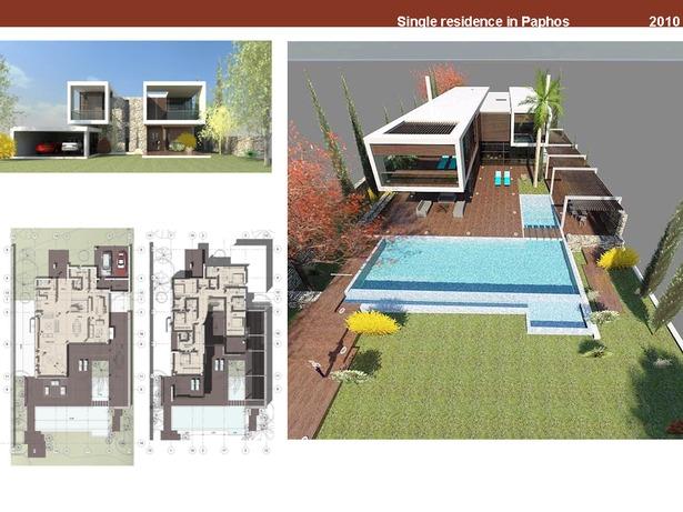 Single residence in Cyprus